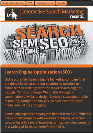 Interactive Search Marketing SEO